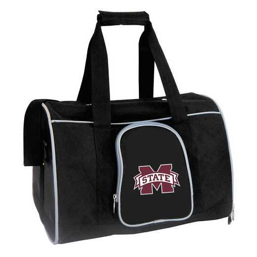 CLMPL901: NCAA Mississippi State Bulldogs Pet Carrier Premium 16in bag